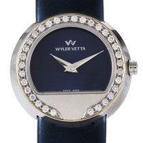 Wyler Vetta Women's Stainless Steel & Diamond Quartz...