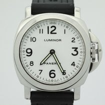 Panerai Luminor Pam114 White Dial F Serial Manual Wind