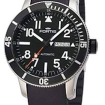 Fortis B-42 Official Cosmonauts Diver Day/Date Titan 647.29.41 K