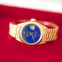 Rolex Datejust Lady Lapis Lazuli 18kYG FULL SET 6917
