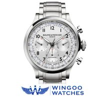 Baume & Mercier Capeland Chronograph Watch Ref. MOA10064/M...