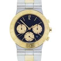 Bulgari Diagono CH35SG Two Tone Chronograph Watch