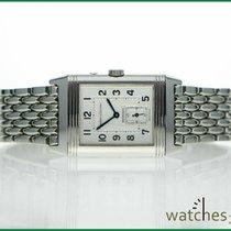 Jaeger-LeCoultre Reverso Duoface Steel bracelet new Papers 2000