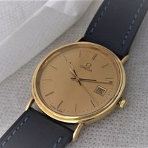 Omega 18ct golden , serviced in very good working condition