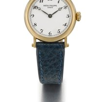 Patek Philippe | A Lady's Yellow Gold Wristwatch Ref 4860...