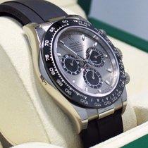 Rolex Daytona 18k White Gold 116519ln Oyster Perpetual...