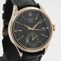 Rolex Cellini Dual Time Everose pink gold 50525