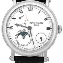 """Patek Philippe Gent's 18K White Gold  """"Complicated..."""