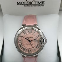 Cartier Ballon Bleu De Cartier 33mm Pink [New]