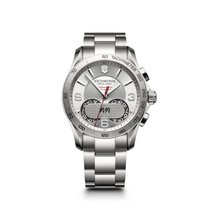 Victorinox Swiss Army Chrono Classic, silver dial, steel,...