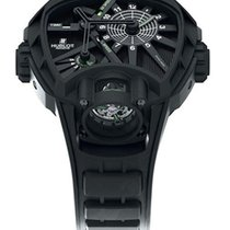 Hublot Key of Time Black Dial Titanium Men's Watch