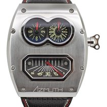 Azimuth Sp-1 Mechanique Mr Roboto Mkii Mr2 Auto Watch Gmt Mid...