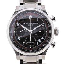 Baume & Mercier Capeland Chronograph 42 Black Steel