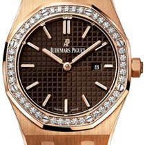 Audemars Piguet Royal Oak Quartz Rose Gold -  67651OR.ZZ.D080C...