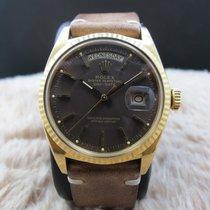 Rolex DAY-DATE 1803 18K Gold with Original Matt BROWN Dial