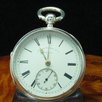 Alfred Russell & Co 925 Silber Open Face Taschenuhr...