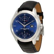 Baume & Mercier Baume et  Clifton GMT Automatic Blue Dial...