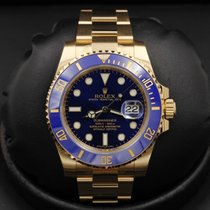 Rolex Submariner 116618lb Yellow Gold