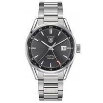 TAG Heuer Carrera 41mm Date GMT Automatic Mens Watch WAR2012.B...