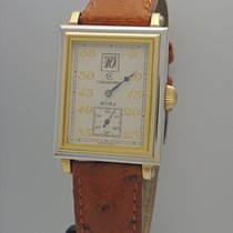 Chronoswiss Hora Jumping Hours Herren -Gold 18k/750 -Box+Papiere