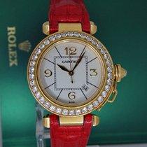 Cartier Pasha Automatic 18k Yellow Gold Diamonds Box&Papers