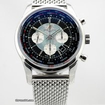 Breitling Transocean Chronograph Unitime - NEW - Listprice...