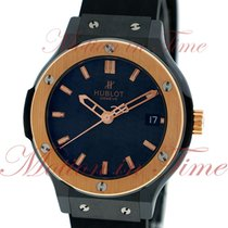 Hublot Classic Fusion 38mm Quartz, Black Carbon Dial, Rose...