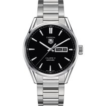 Ταγκ Χόιερ (TAG Heuer) CALIBRE 5 DAY-DATE - 41MM - STEEL WATCH