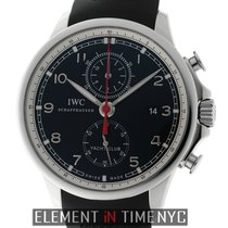 IWC Portuguese Collection Yacht Club Chronograph Black Dial