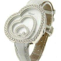 Σοπάρ (Chopard) Happy Spirit in White Gold with Diamond Bezel