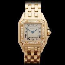 까르띠에 (Cartier) Panthere Original Diamond Bezel 18k Yellow Gold...
