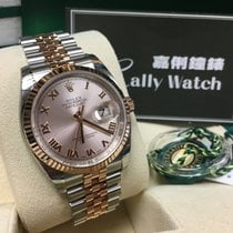 Rolex Cally - 36MM 116231 Datejust Rose gold & Steel Pink...