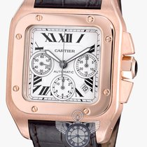 カルティエ (Cartier) Santos 100 XL Chronograph Rosegold