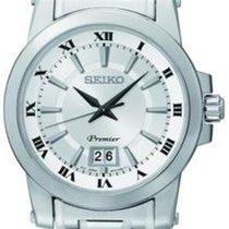 Seiko Premier SUR013P1 Herrenarmbanduhr Klassisch schlicht