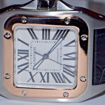 Cartier Santos 100 18K Rose Gold