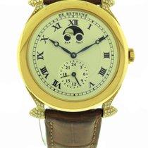 De Bethune 18k Rose Gold & Diamond Moonphase Wristwatch