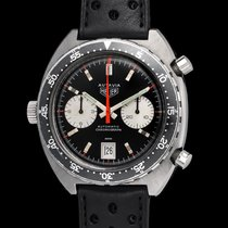 Heuer Autavia 1163 With Minutes/hours Bezel First Execution...