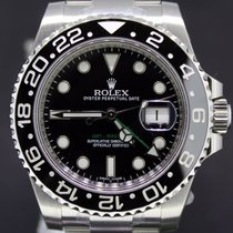 Rolex GMT-Master II Steel, Ceramic Black Dial, 40MM Full Set