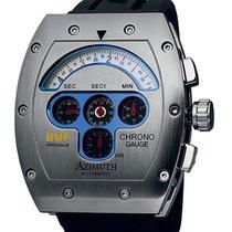 Azimuth Mecha-1 Chrono Gauge Bmf Watch S/s Case Modified...