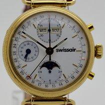 Swissair Mondphase Chronograph, 90iger Jahre