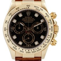 Rolex Cosmograph Daytona 116518 116518-BLKDBR Black Diamond...