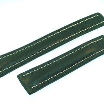 Breitling Band 22mm Green Calf Strap Correa Ib22-3