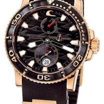 Ulysse Nardin Maxi Marine Diver Black Surf 18K Rose Gold...