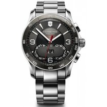 Victorinox Swiss Army Herrenuhr Chrono Classic 1/100th 241618...