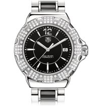 TAG Heuer FORMULA 1 QUARTZ LADY LUXURY BLACK DIAL