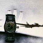 Doxa 2. WK Military Reichsluftwaffe Piloten Dienstuhr 1936