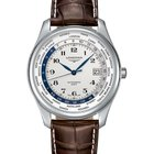 Longines Men's L28024703 Master Automatic GMT Watch