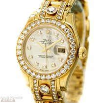 Rolex Datejust Pearlmaster Lady Super Diamond Masterpiece...