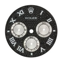Rolex Daytona Black Diamond Pavé/White Sub-Dials Custom Dial