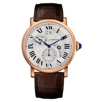 Cartier Rotonde De Cartier 42mm Rose Gold on Leather Strap
